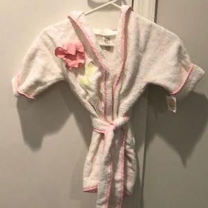 Toddler girls robe